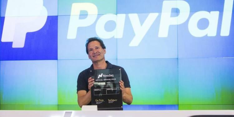 PayPal en nette hausse pour son retour sur le Nasdaq