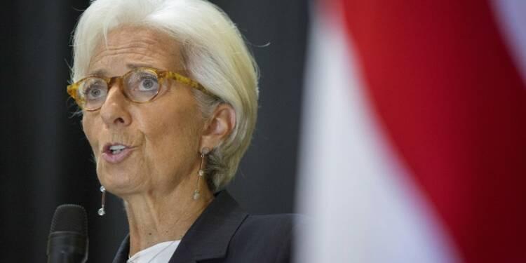 Christine Lagarde juge la France sur la bonne voie