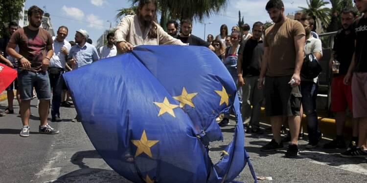 Blocages et tensions à l'approche du référendum grec
