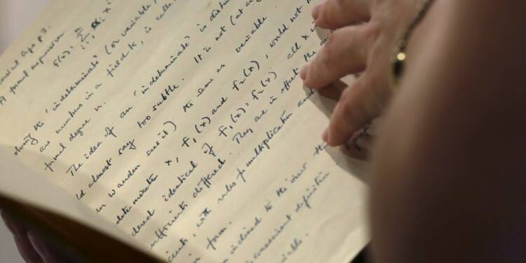 Un manuscrit d'Alan Turing adjugé à un million de dollars