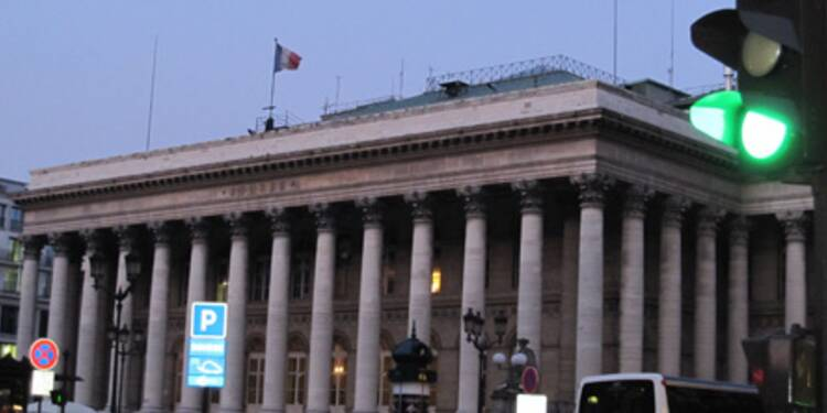 La Bourse de Paris a terminé symboliquement dans le vert