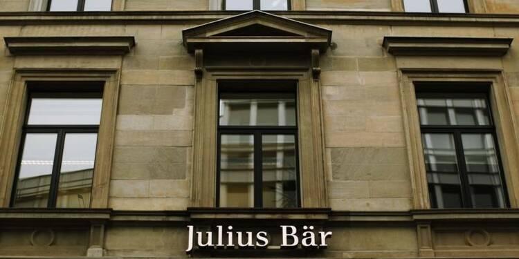 RPT-Julius Bär en forte hausse sur des conjectures d'OPA