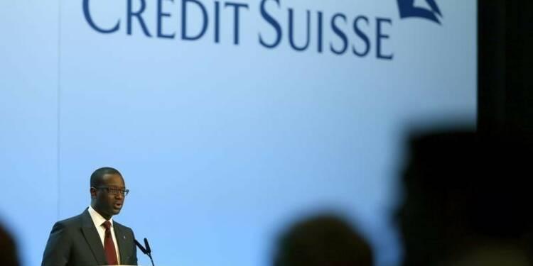L'AG de Credit Suisse approuve la double augmentation de capital