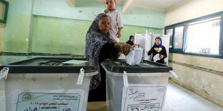 Début des élections législatives en Egypte