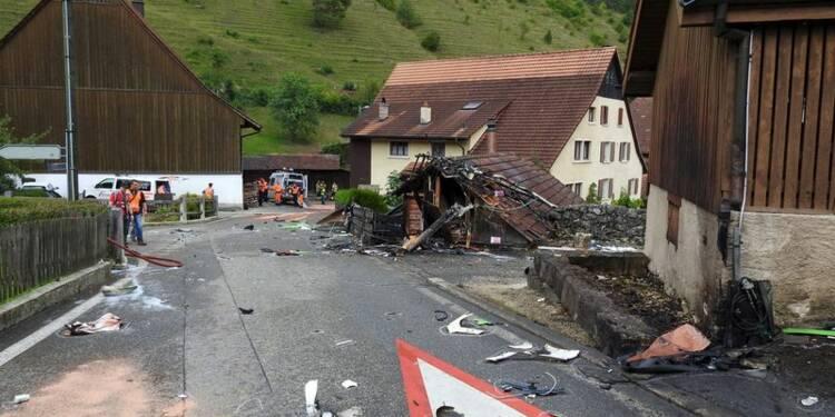 Deux avions s'écrasent lors d'un meeting aérien en Suisse