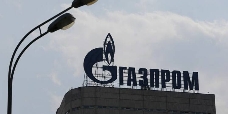 Gazprom profite de la baisse du rouble au 1er semestre