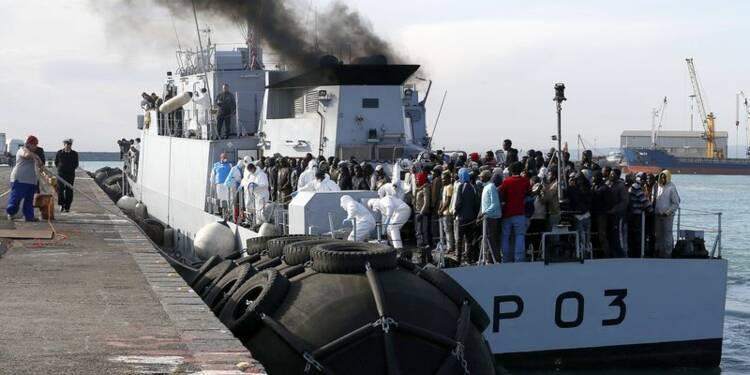 L'UE va un peu renforcer les opérations de secours aux migrants