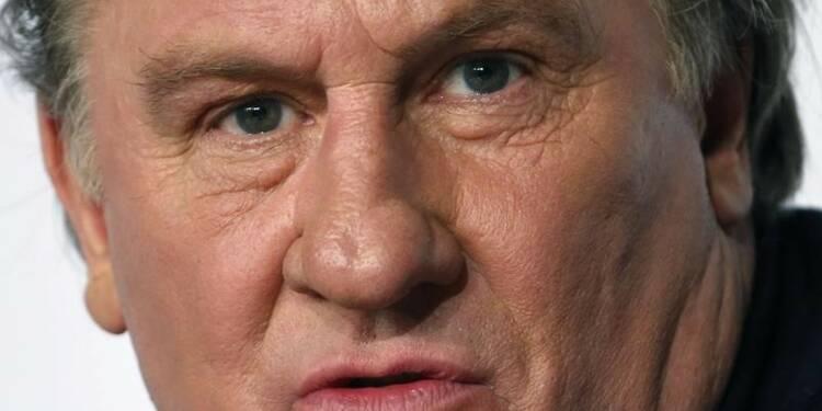 """Pour Depardieu, les Français sont """"plus malheureux"""" que les Russes"""