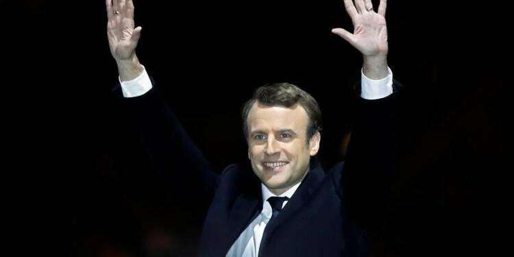 Emmanuel Macron officiellement élu président