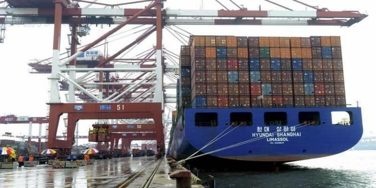 Les exportations chinoises en yuans ont reculé en septembre