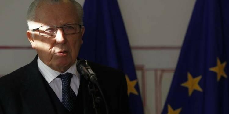 L'UE honore Jacques Delors, figure de la construction européenne
