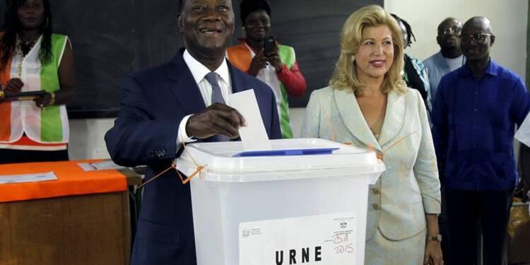 Alassane Ouattara réélu président de la Côte d'Ivoire