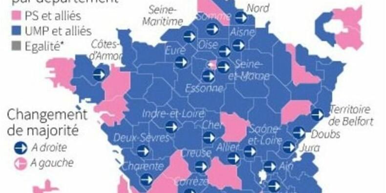 Le gouvernement taxé de déni après les départementales