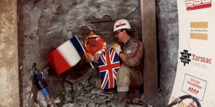 Les deux hommes qui ont ouvert le tunnel sous la Manche