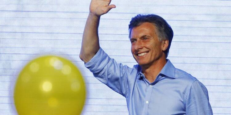Mauricio Macri élu à la présidence de l'Argentine