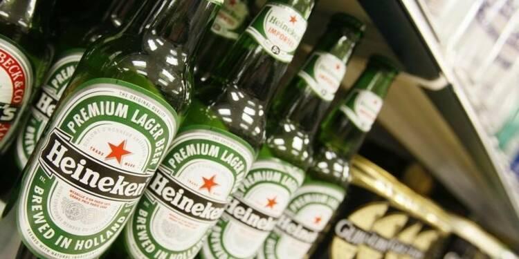 Les semestriels de Heineken bien accueillis en Bourse