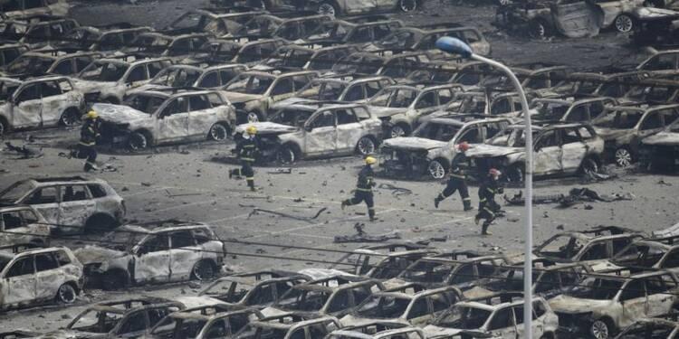 La Chine défend ses pompiers après la catastrophe de Tianjin