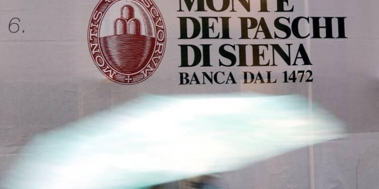 Monte Paschi chute de plus de 8%, pas de fusion cette année