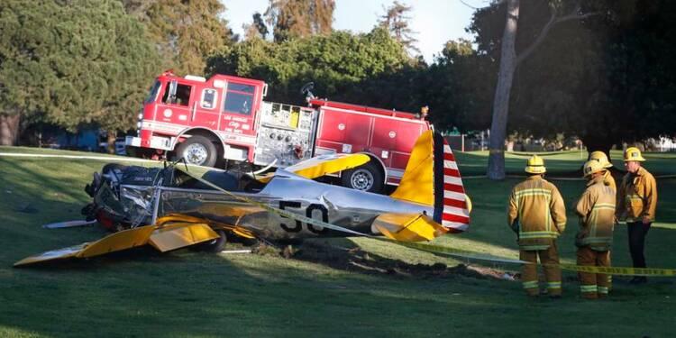 Harrison Ford blessé dans un accident d'avion en Californie