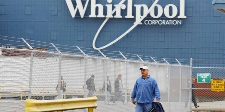 Baisse du bénéfice trimestriel de Whirlpool, prévisions réduites