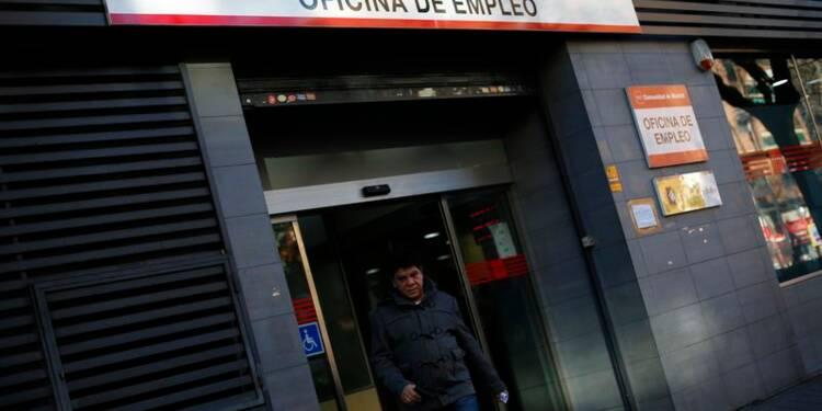 Nouveau recul du nombre de personnes sans emploi en Espagne