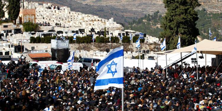 Les victimes juives de Paris inhumées à Jérusalem