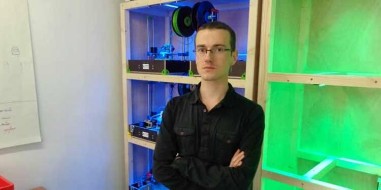 Adrien Grelet (Tobeca) : il a inventé l'imprimante 3D à petit prix