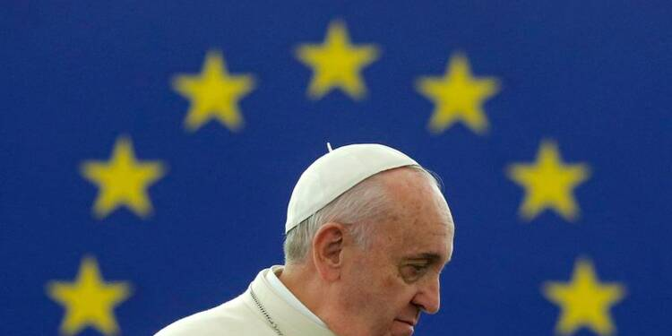 Le pape François invite l'Europe à renouer avec l'humain