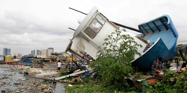 Le typhon Rammasun fait dix morts aux Philippines