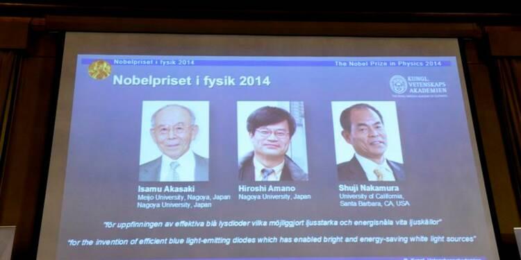 Le Nobel de physique 2014 aux inventeurs de l'ampoule LED