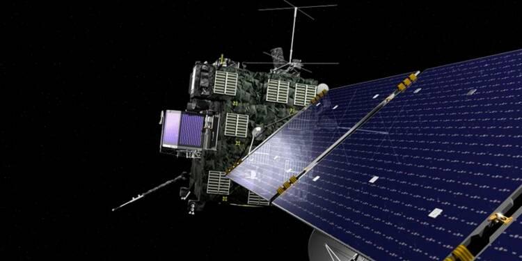 """Rosetta pose de nouvelles questions sur la comète """"Tchouri"""""""
