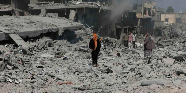 La France exige un cessez-le-feu à Gaza