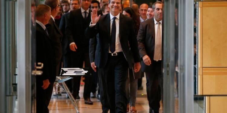 """Le ministre de l'Economie, Arnaud Montebourg, """"reprend sa liberté"""""""