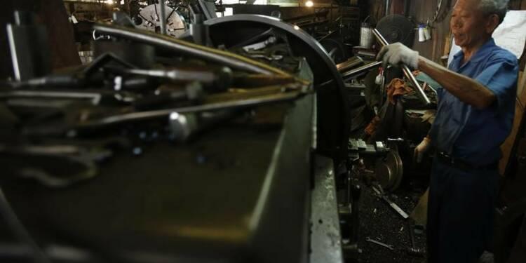 Le gouvernement japonais prudent pour la production industrielle