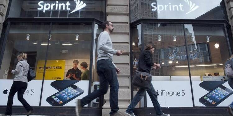 Le CA de Sprint et le nombre d'abonnés battent le consensus