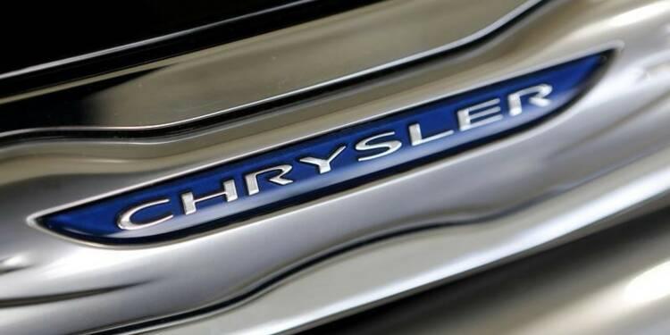 Chrysler Group a accru son bénéfice de 32% au 3e trimestre