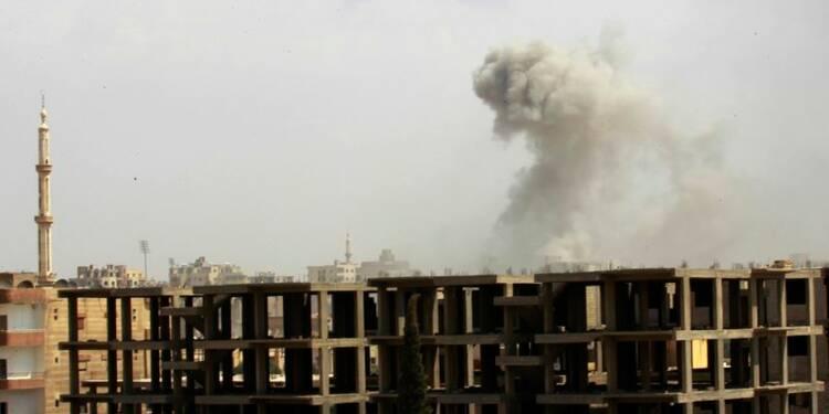 L'Etat islamique abandonne des positions au nord de Homs