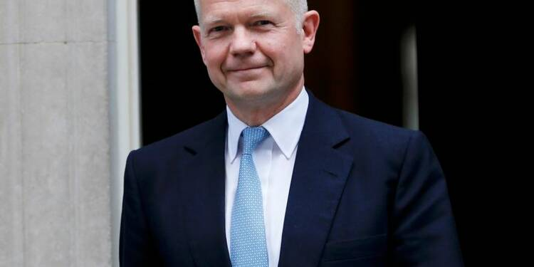 Démission surprise du secrétaire au Foreign office William Hague