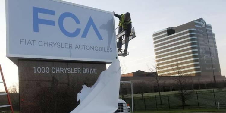 Chrysler devient FCA US