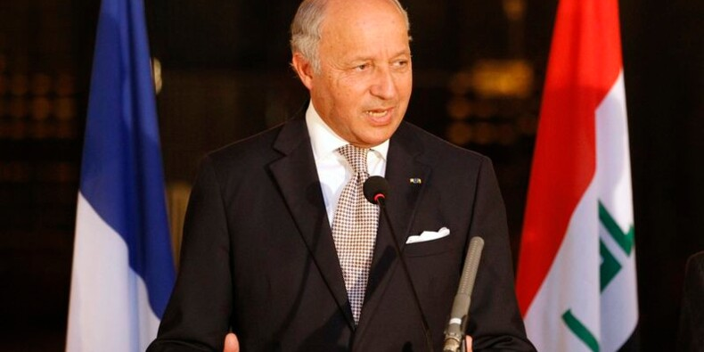 Laurent Fabius plaide pour un gouvernement d'unité en Irak
