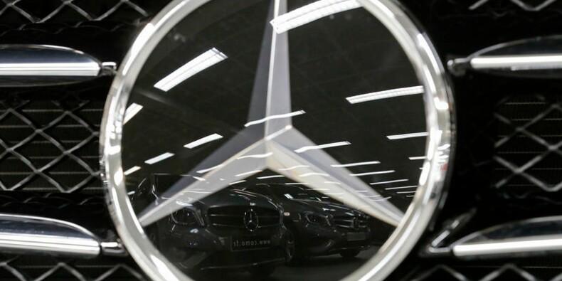 Les profits de Daimler soutenus par Mercedes-Benz