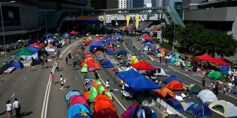 Le chef de l'exécutif de Hong Kong exclut de démissionner