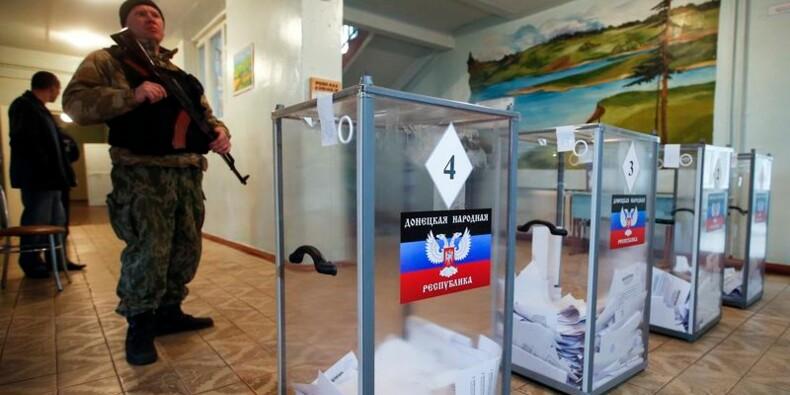 Porochenko dénonce le scrutin séparatiste dans l'Est de l'Ukraine