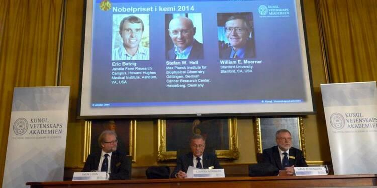 Le Nobel de chimie à des pionniers de la nanoscopie