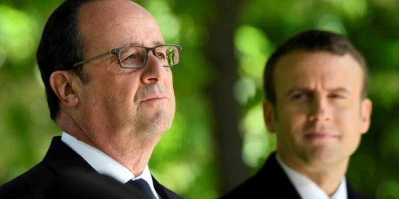 """Hollande ne veut pas être la """"mouche du coche"""" de Macron"""