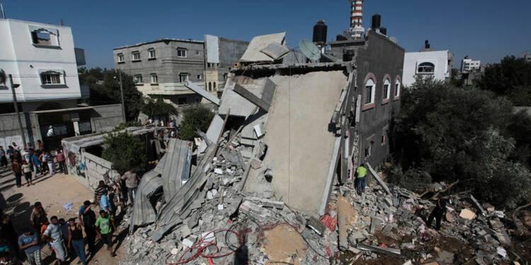Au moins 44 Palestiniens tués dans la bande de Gaza