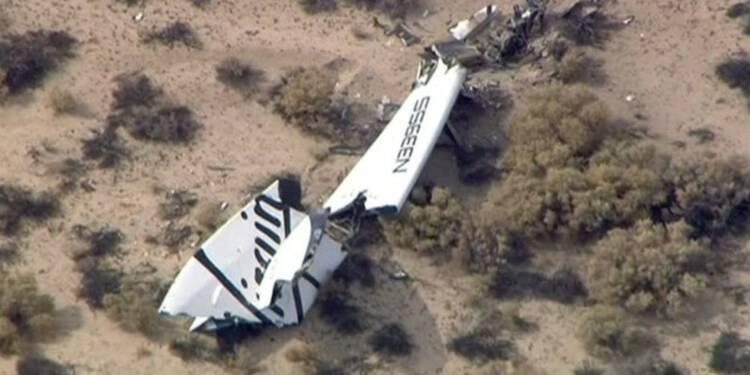 Un mort, un blessé dans l'accident d'un vaisseau Virgin Galactic