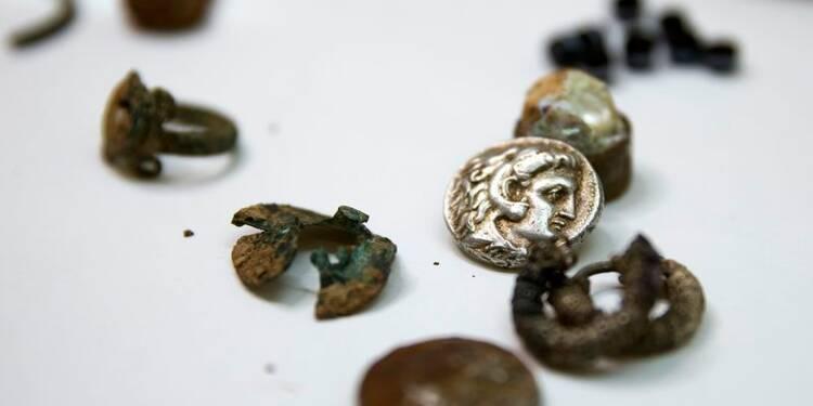 Un trésor de l'époque d'Alexandre le Grand découvert en Israël