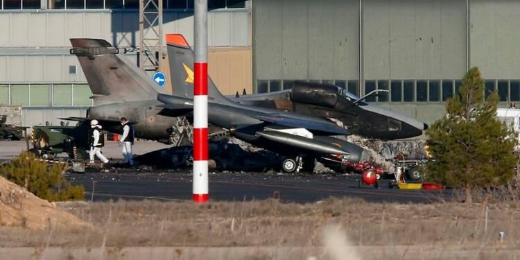 L'accident meurtrier du F-16 en Espagne dû à une panne