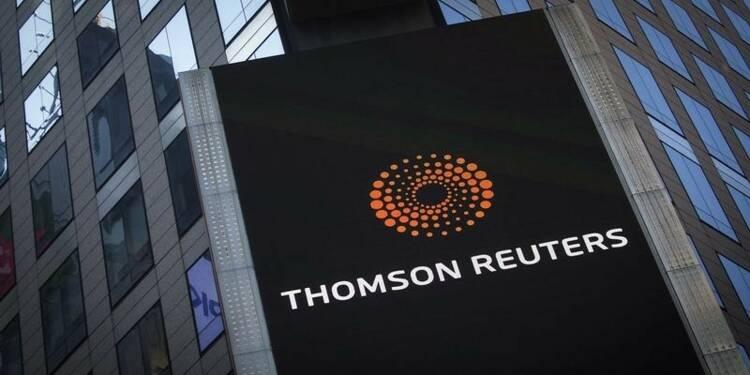 Thomson Reuters prévoit une croissance de son CA en 2015